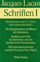 Schriften I. Hg. v. Norbert Haas. Walter 1973 - Lacan