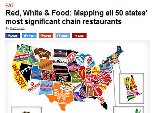 Sigificant chain restaurants - Signifikante Ketten