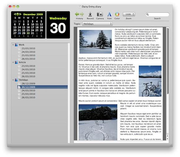 CallitADay - Tagebuchsoftware für iPhone - zu: Der Andere