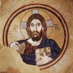 Christus als Triumphator, Kuppel der Klosterkirche Daphni bei Athen