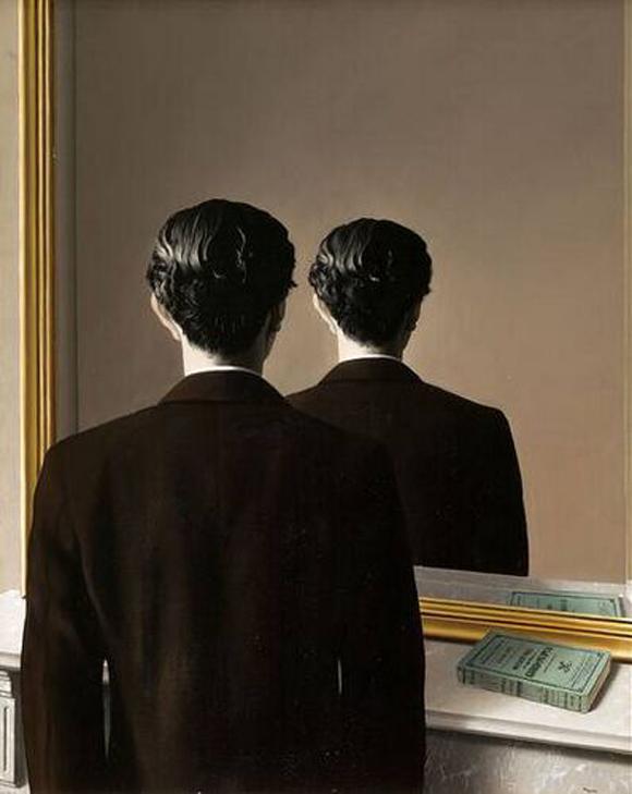 Magritte - Le reproduction interdite
