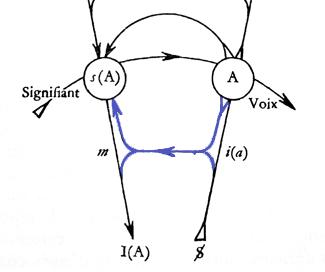 Graf des Begehrens - Verbindung m - i(a) gefärbt, Ich - Idealich