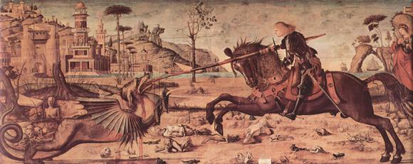 Carpaccio - St. Georg und der Drache - 580 px