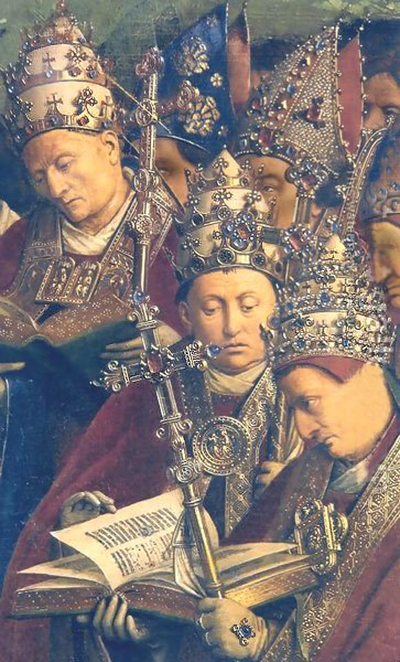 Jan van Eyck, Genter Altar - zu: Imaginäres-Symbolisches-Reales