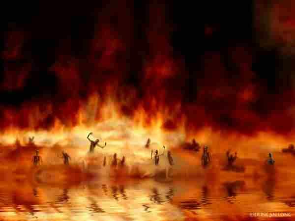 Der Tod im Feuersee - (zu: Jacques Lacan über Todestrieb und Antigone)