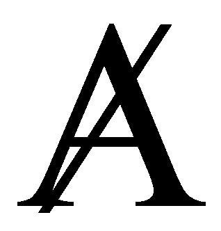 """Durchgestrichene A - A barré - für """"Mangel im Anderen"""""""