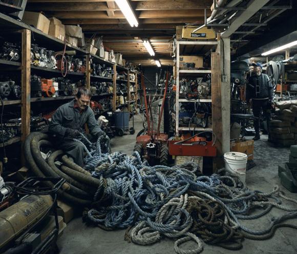 Jeff Wall - Untangling - 1994