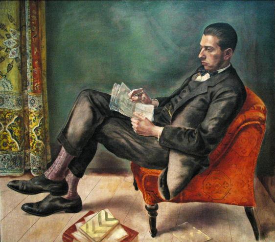 George Grosz, Felix Weil, 1926