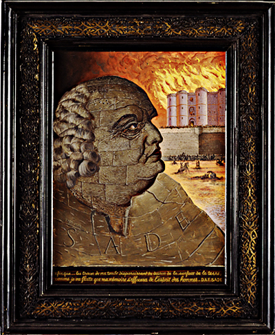 Man Ray, Portrait-imaginaire-de-D.-A.-F.-de-Sade-Imaginary-Portrait-of-the-Marquis-de-Sade