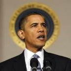 Obama mit Heiligenschein-Effekt