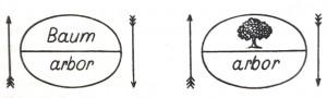 Saussure arbor Baum - Grundlagen Seite 78