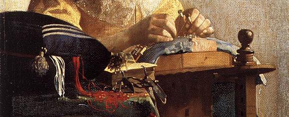 Vermeer_Johannes_Die Spitzenklöpplerien_(ca.1669-1671)