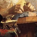 Johannes Vermeer, Die Spitzenklöpplerin, Ausschnitt