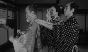 Samurai Fiction - Koharu führt Heishiro die Hände