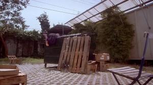 Secretary - Holloway verschwindet in der Mülltonne