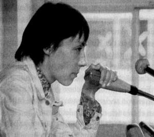 Helke Sander bei ihrer Rede auf dem SDS-Delegiertenkongress 13-9-1968 (zu: Jacques Lacan, Phantasma)