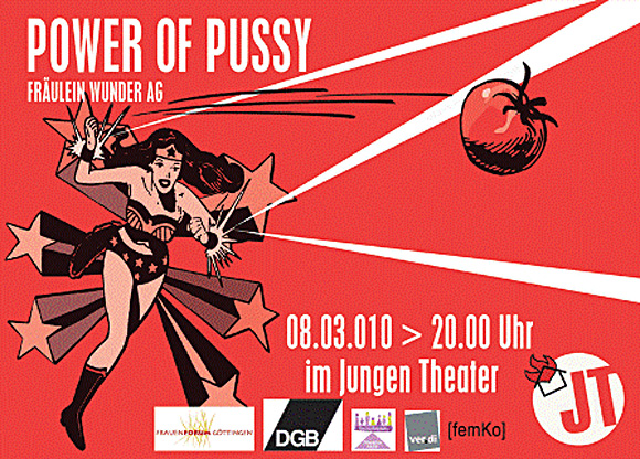 Power of Pussy (zu: Jacques Lacan, Phantasma)
