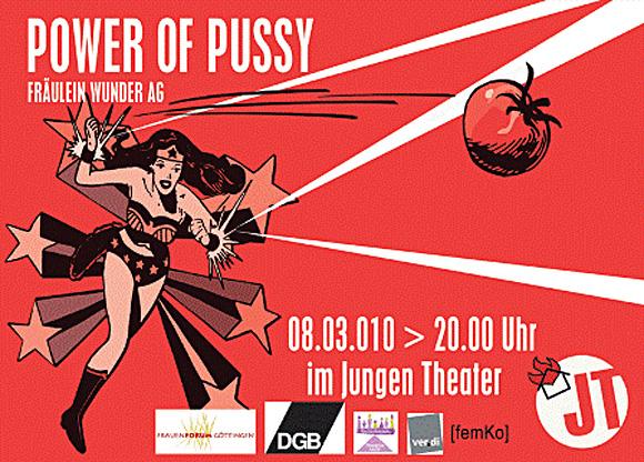 Power of Pussy (zu: Jacques Lacan, Phantasma)