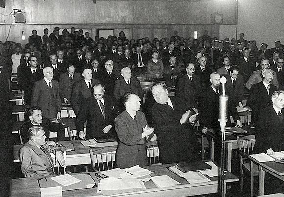 Parlamentarischer Rat 1949 (zu Jacques Lacan, Name des Vaters)