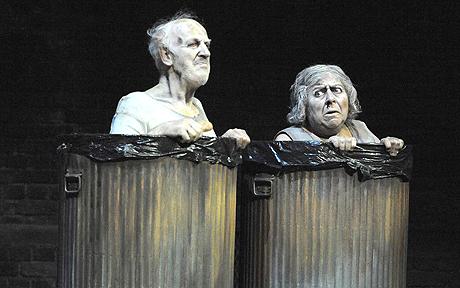 Beckett Endspiel (zu: Jacques Lacan, Lituraterre - Buchstabe und Signifikant))