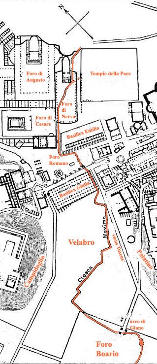 Rom, Cloaca Maxima (zu: Jacques Lacan, Lituraterre - Buchstabe und Signifikant)