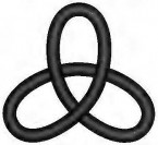 Falscher Kleeblattknoten (zu: Knotentheorie von Jacques Lacan)