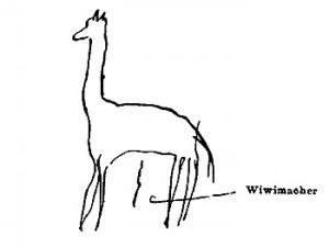 Giraffe des kleinen Hans 2
