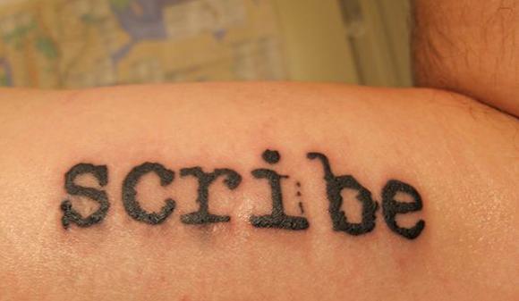 tatoo scribe