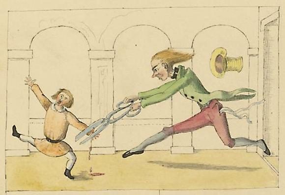 Struwwelpeter Manuskript 1858