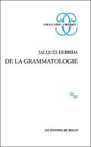 derrida-de-la-grammatologie