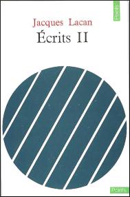 Titelseite von Jacques Lacan: Écrits II, 1971