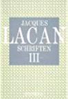 Titelseite von Jacques Lacan: Schriften III, Haas-Ausgabe, Quadriga 1986