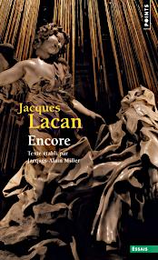 Jacques Lacan, Seminar 20, Encore, Seuil 2016, Titelseite