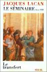 Jacques Lacan, Seminar 8, Le transfert, Seuil 1991, Titelseite
