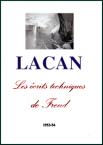 Jacques Lacan, Le séminaire 1, Écrits techniques, Staferla 2015, Titelseite