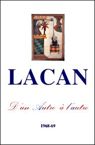 Jacques Lacan, Seminar 16, D'un Autre à l'autre, Version Staferla, Titelseite
