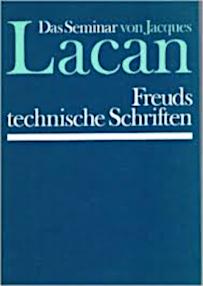 Jacques Lacan, Seminar 1, Freuds technische Schriften, Walter 1978, Titelbild
