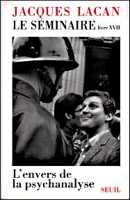 Jacques Lacan, Seminar 17, L'envers de la psychanalyse, Version Miller, Titelseite